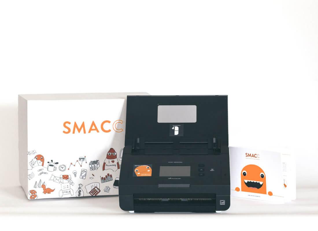 SMAAC - Screenshot der Seite